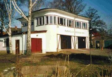 Bootshaus des Ruderclubs Beeskow