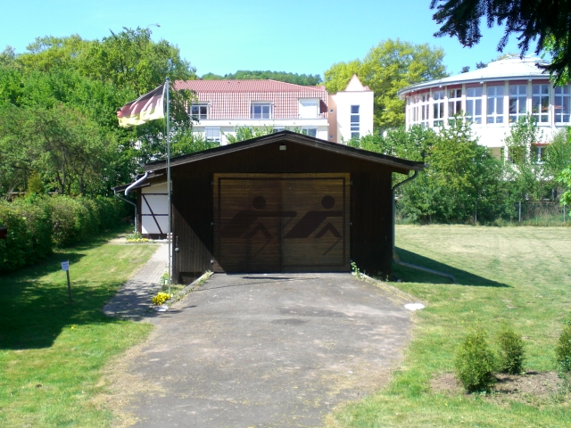 Bootshaus des RC Amicitia Bad Hersfeld