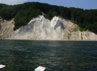Im Ruderboot vor den Wissower Klinken