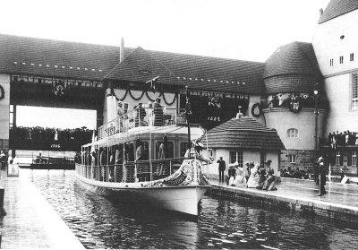 Schleuse Kleinmachnow 1906