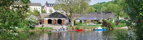 Bootshaus des Weilbeurger Rudervereins